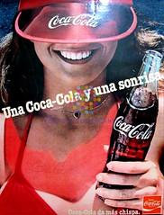 """Coca Cola. """"Una sonrisa"""". Años 80"""