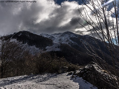 in winter landscape.... (Luca Cipriani Unlight Project Photography) Tags: winter mountain snow mountains landscape pentax pentaxkr
