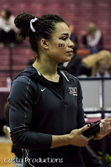 Kayla Jones (Erin Costa) Tags: ladies college tx kitty arena gymnast gymnastics lions tumble denton twu magee centenary lindenwood