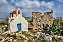 Mykonos (NinjaAndi) Tags: strand canon kirche greece griechenland mykonos mikonos mittelmeer gis eos550d griechicheinseln