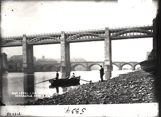046460:High Level and Old Tyne Bridges Newcastle upon Tyne Unknown c.1865