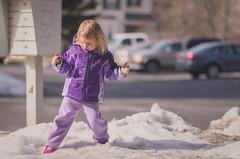Untitled (Zozo's Photos) Tags: winter snow cute kids nikon bokeh 18 wideopen d7000 85mmf18g nikond7000