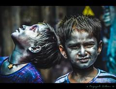 Holi'14 [Shakharibazar, Dhaka] (Razequl Zibon) Tags: dhaka hindu holi bangladesh festivalofcolours festivaloflove shakharibazar basantautsav carnivalofcolours phalgunapurnima springcelebrationoflove
