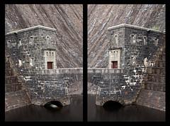 Claerwen Entrance Diptych (-RobW-) Tags: dam looming elanvalley a700 claerwen tamron1750 sonyalpha