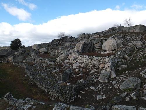 Castillo - Vista del interior del recinto