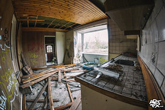 'Villa 1912' (ARTFXSTUDIOS) Tags: urban abandoned netherlands canon dark decay exploring fisheye explore forgotten villa damaged residential derelict destroyed decaying destroy urbex