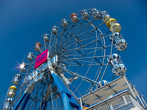 Ferris Wheel of Santorini Park