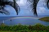 Tropical Paradise by WisDoc (saintluciatourism) Tags: 15fav sailboat canon rainbow flickr gutentag palmtrees tropical rebelxt stlucia tikaye wisdoc gtaggroup goddaym1 ifttt