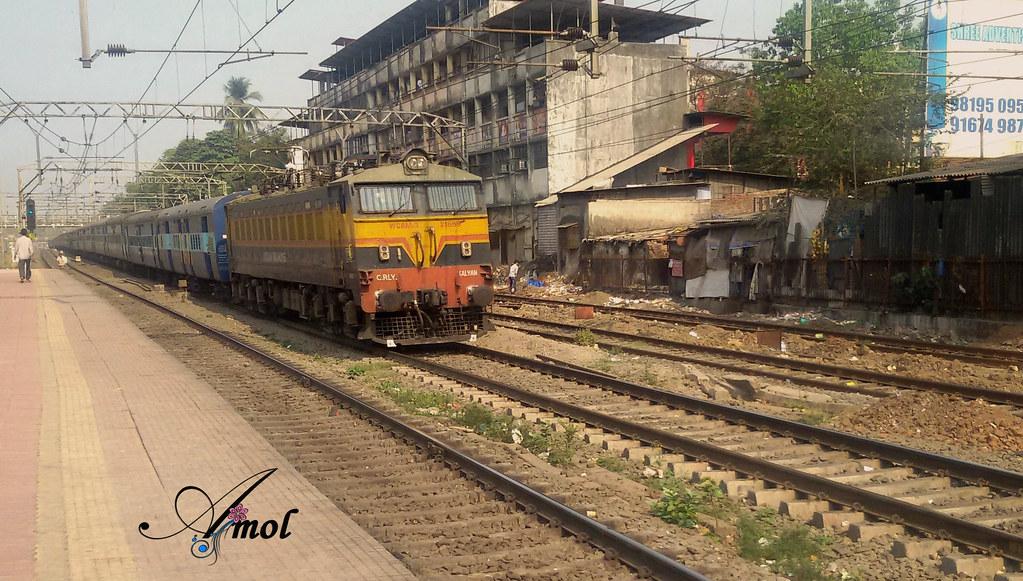 30 mints Late Running 12142 Rajendra Nagar Patna - Mumbai CST SF Express  with Kalyan WCAM