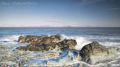 Snow on those far Mountains.....!! (Ossie13 aka Steve) Tags: ireland sea rocks eire polarizer snowcovered d800 irishsea 2015 2485mm cooleymountains snowcoveredmountains colouth slievefoy leefilters nikkor2485 nikond800 dundalkbay stevemathers leepolarizer salterstown cooleypenisula