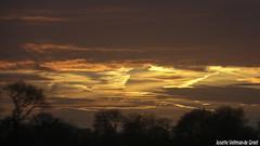 IMG_2671 (Josette Veltman) Tags: sunset water zonsondergang natuur ganzen friesland landschap tegenlicht laaxum oudemirdumerklif