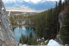 Grassi Lakes revisited. (davebloggs007) Tags: ben lakes maureen february revisited 2015 grassi
