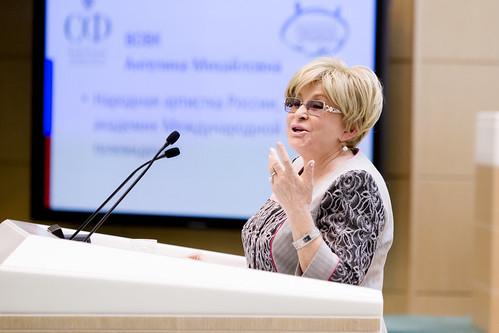 Ангелина Вовк, Народная артистка России, академик международной академии телевидения