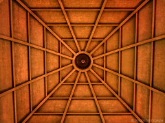 A church roof (Doug Scortegagna) Tags: brazil geometric church lines brasil architecture square perfect shapes symmetrical urubici churchroof