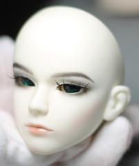 Souldoll Shaun Finished (miyukisetsu) Tags: white face up kid doll skin crescent soul bjd shaun abjd ws aesthetics faceup soulkid souldoll miyukisetsu