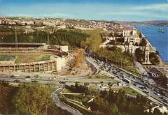 nn Stadium, Dolmabahe, 1970 (SALTOnline) Tags: football stadium futbol stad dolmabahe stadyum innstadyumu innstadium saltaratrma saltresearch saltonline