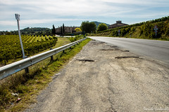 Val d'Orcia (carbonelli93) Tags: strada val toscana rosso dorcia viti senese orcia