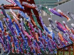 Happy Children's Day 2016 (Rekishi no Tabi (back & catching up)) Tags: japan tokyo tokyotower minatoku koinobori childrensday  carpstreamers  kodomonohi