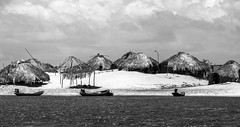 Vila de pescadores (felipe sahd) Tags: brasil noiretblanc maranho nordeste mandacaru viladepescadores 123bw riopreguias