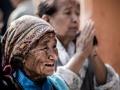 Old Women, Nepal (davdenic  in the sky ) Tags: nepal women lady dragan
