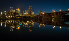Minneapolis reflected (selo0901) Tags: reflection mississippi minneapolis