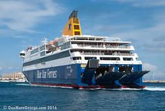 Syros Port I 03.05.2016 I Blue Star Ferries I Blue Star Patmos (onemoregeorge.frames) Tags: port island ship may greece omg syros 2016 bluestarpatmos onemoregeorge