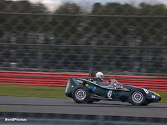 Connaught C Type (BenGPhotos) Tags: green classic sports car club race start vintage spring c grand racing prix silverstone type british motor panning circuit motorsport vscc autosport connaught 2016