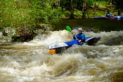 DSCF8289 (Lumire du soir) Tags: canoe correze kayack treignac comptition
