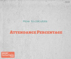 attendance (teresamary2) Tags: calculations percentage