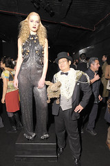 "Dr. Takeshi Yamada, Seara (sea rabbit) and fashion model at his ""Immortal Love Pop-up Experience - Freakshow & Immortalized"" show at Pop Up Gallery in New York City, February 7, 2012.  2010-2013 AMC Network Entertainment LLC. All rights reserve (searabbits23) Tags: ny newyork sexy celebrity rabbit art hat fashion animal brooklyn asian coneyisland japanese star tv google king artist dragon god manhattan famous goth uma ufo pop taxidermy vogue cnn tuxedo bikini tophat unitednations playboy entertainer oddities genius donaldtrump mermaid amc mardigras salvadordali performer unicorn billclinton hillaryclinton seamonster billgates aol vangogh curiosities sideshow jeffkoons globalwarming mart magician takashimurakami pablopicasso steampunk damienhirst cryptozoology freakshow realityshow seara immortalized takeshiyamada roguetaxidermy searabbit barrackobama ladygaga climategate  manwithrabbit"