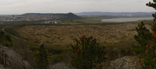 Blick vom Spitzberg (Brüx) – Westen