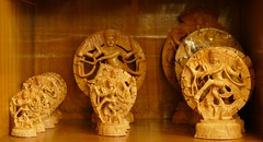 Shiva Souvenirs (chdphd) Tags: art shop handicraft woodwork craft khajuraho kandariya kandariyaartandculturecenter kandariyaartandculturecentre kandariyaart