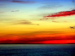 New York Sunset (dimaruss34) Tags: sunset sea sky newyork brooklyn clouds image dmitriyfomenko