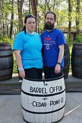 Barrel Of Fun (Josh Thompson) Tags: barrel josh ironic cedarpoint evonne galaxys4 flickrbingo4o74