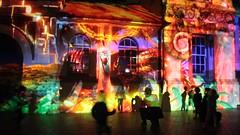 Video In Front of Taronga Zoo Entrance (IAGD+P) Tags: sydney festivaloflights tarongazoo mosman vivid2016