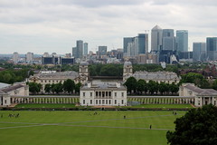 Greenwich Maritime Museum (phoebe.horner) Tags: park trees people white black colour tree monochrome fence landscape photography landscapes photo photographer view edited greenwich royal parks fences squirrell cutty sark