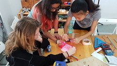 Laser Quadrat for Coral Reef Mapping (cesarharada.com) Tags: kids marine science laser invention ths makers quadrat makerbay