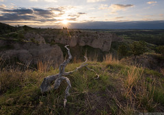 Chadron State Park, Nebraska (Erik Johnson Photography) Tags: park sunset grass clouds rural sunrise photography gold photo midwest nebraska butte view state stock hike prairie goldenhour panhandle foreground chadron