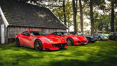 Ferrari combo! (Lennard Laar) Tags: cars netherlands car sport photography spring italian nikon super ferrari gto nikkor supercar vr sportscar supercars combo f12 18105 tdf ferraris 2016 carspotting 599 lennard laar 599gto carsighting d5100 lennardlaar f12tdf