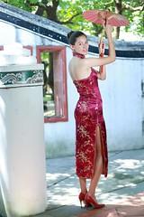 DP1U7214 (c0466art) Tags: light portrait building girl face canon pose fan costume eyes pretty slim action outdoor gorgeous chinese ale style cruz salvador tall charming elegant ols   1dx c0466art