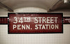 34th Street Penn. Station (meg williams2009) Tags: subway subwaystation nycsubway mosai newyorksubway newyorkmetro stationsign subwaymosaic stationsigninmosaic