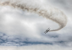 air show (kderricotte) Tags: sky clouds airplane airshow stunt 200mm canon5dmarkii manassasairshow