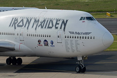 Iron Maiden ED Force One (Air Atlanta Icelandic) Boeing 747-428 TF-AAK (EK056) Tags: atlanta ed one airport iron force air boeing dsseldorf maiden icelandic 747428 tfaak