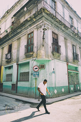 Streets Of Havana (Simone Della Fornace) Tags: street travel people urban building tourism person candid sony havana cuba streetphotography streetphoto cuban dilapidated oneperson traveldestination touristicdestination a7rii