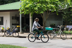 Bangkok, Thailand (Quench Your Eyes) Tags: park travel thailand asia southeastasia cyclist bangkok thai citycenter biketour lumpinipark elderlycyclists lumpiniparkwitthayuroadbangkok