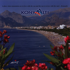 Konyaalti - A place where mountains are in love with the sea and the sea is in love with the sun! 2014_1, Antalya prov., Mediterranean region, Turkey (World Travel Library) Tags: konyaalti place where mountains love sea sun 2014 landscape shore beach water antalya prov mediterranean region turkey trkiye brochure world travel library center worldtravellib holidays tourism trip touristik touristisch vacation countries papers prospekt catalogue katalog photos photo photography picture image collectible collectors collection sammlung recueil collezione assortimento coleccin ads gallery galeria touristische documents dokument   broschyr  esite   catlogo folheto folleto   ti liu bror