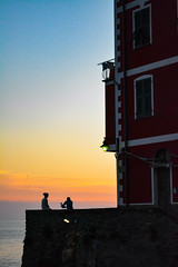 DSC_0315 (chriswalts) Tags: ocean travel sunset italy holiday cinqueterre