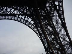 Metal Architecture (SixthIllusion) Tags: travel paris france metal architecture tour eiffel