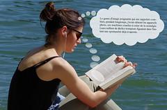 La lectrice et la photo (yanific) Tags: photo lecture lectrice