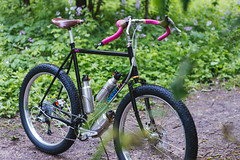 _DSC7812 (markreimer) Tags: crust df 26 bikes plus schmidt velocity rasta touring brooks xtr nitto chrisking shimano barend philwood dynamo cld dfl dually whiteindustries bikepacking 1x10